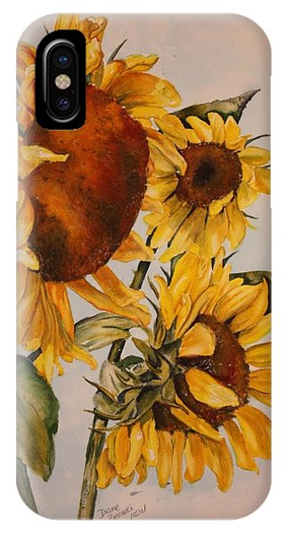 Sunflower 5 IPhone Case