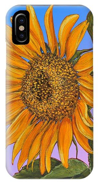 Da154 Sunflower By Daniel Adams IPhone Case