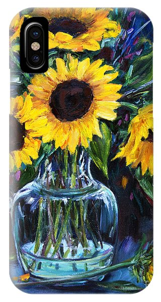 Sunflower Bouquet  IPhone Case