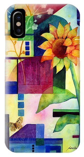 Bloom iPhone Case - Sunflower Collage 2 by Hailey E Herrera