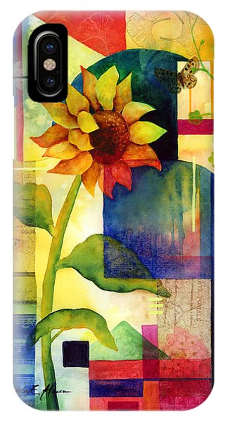 Blooming iPhone Case - Sunflower Collage by Hailey E Herrera
