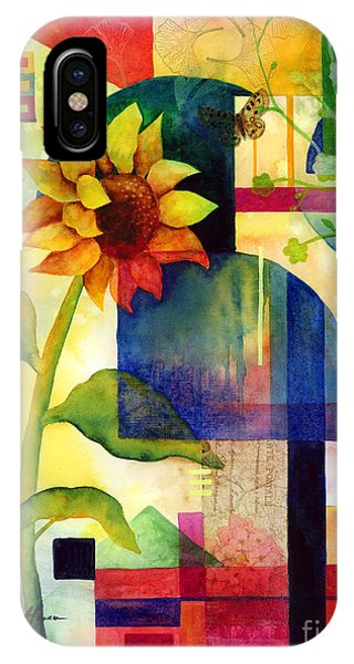 Botany iPhone Case - Sunflower Collage by Hailey E Herrera