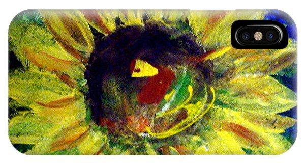 Sunflower  Phone Case by Cynthia Hudson
