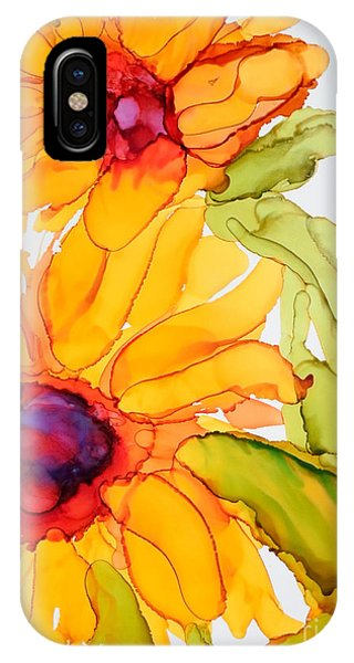 Sunflower Duo IPhone Case