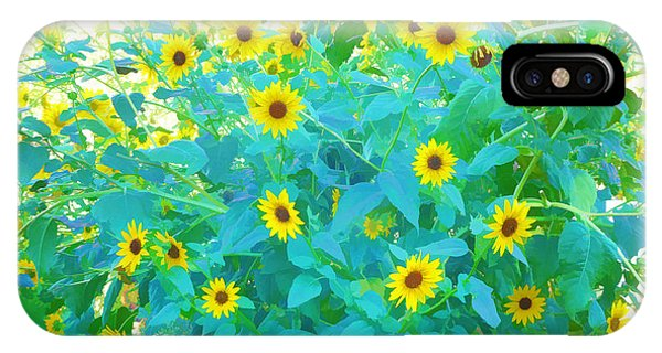 Sunflower Forest IPhone Case