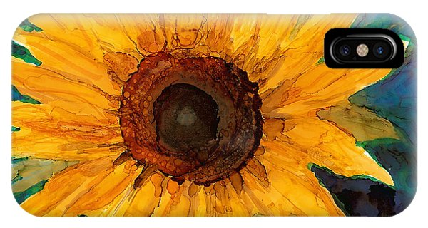 Sunflower II IPhone Case