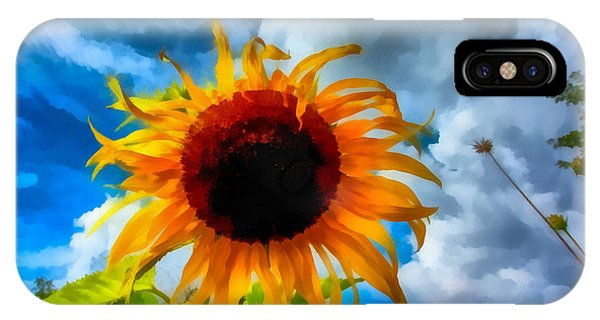 Sunflower Inspiration IPhone Case
