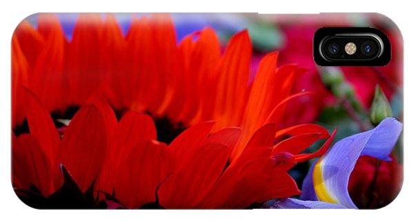 Sunflower Iris Love IPhone Case