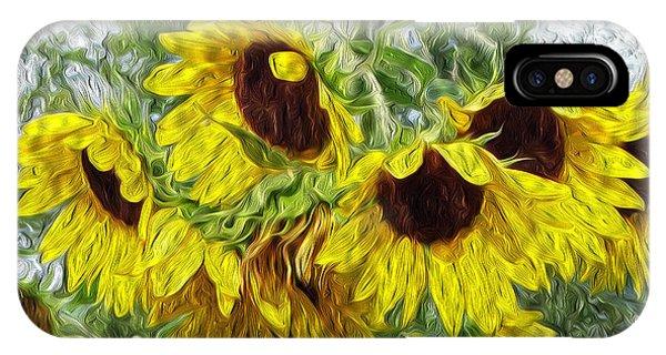 Sunflower Morn II IPhone Case