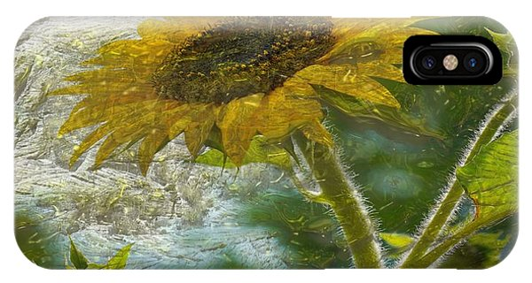 Sunflower Mountain IPhone Case