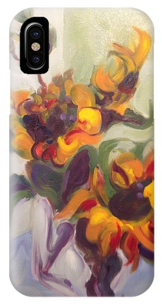 Sunflower Pirouette IPhone Case