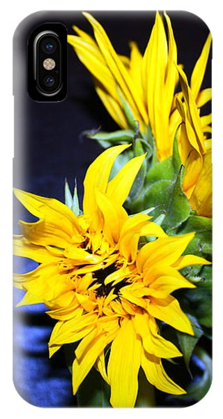 Sunflower Portrait IPhone Case
