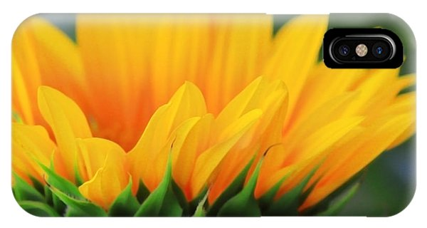 Sunflower Profile IPhone Case