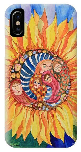 Sunflower Seeds Of Hope IPhone Case
