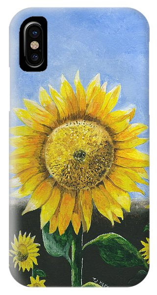Sunflower Series One IPhone Case