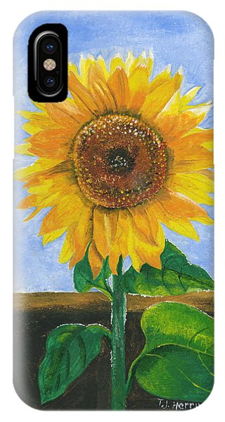 Sunflower Series Two IPhone Case