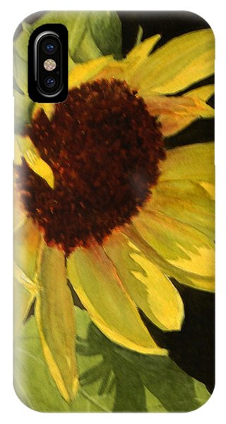 Sunflower Smile IPhone Case