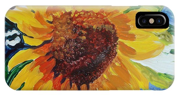 Sunflower Tile  IPhone Case