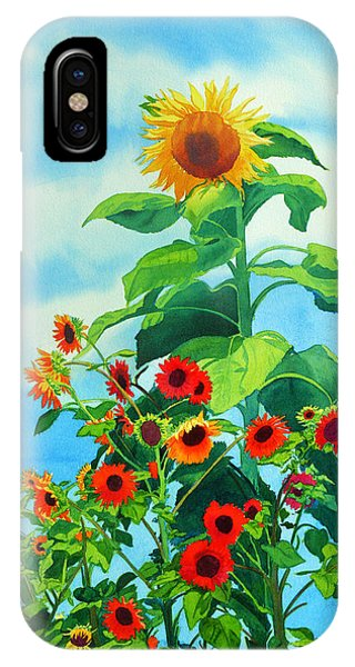 Sunflowers 2014 IPhone Case