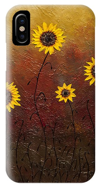 Sunflowers 3 IPhone Case