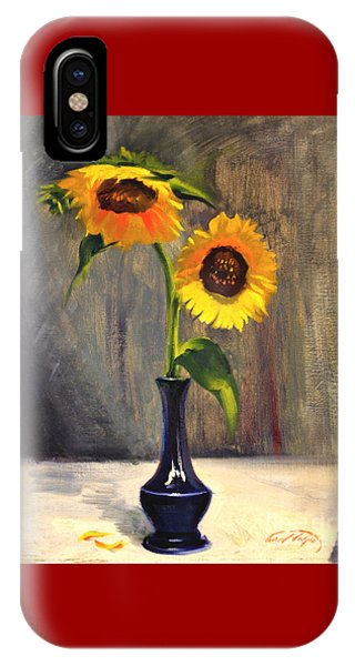Sunflowers - Adoration IPhone Case