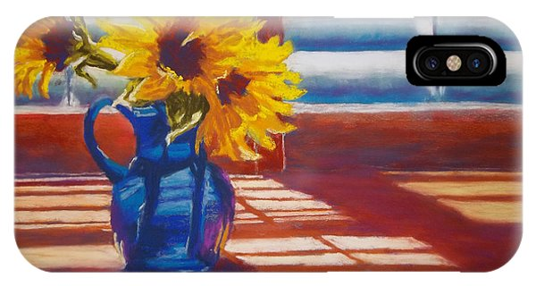 Sunflowers Backlight IPhone Case