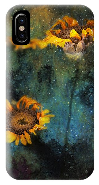 Sunflowers In Night Sky IPhone Case