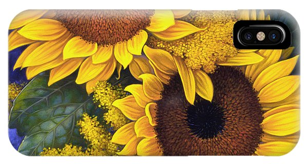 Beauty iPhone Case - Sunflowers by Mia Tavonatti