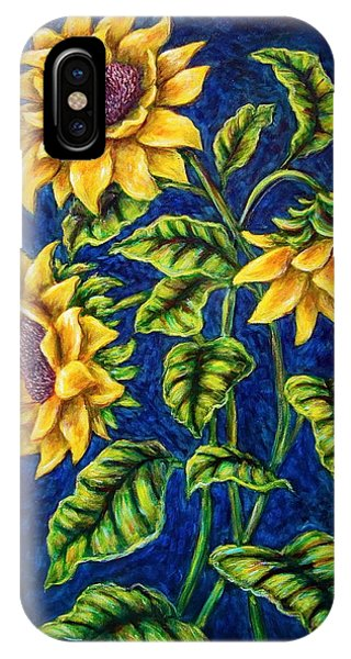 Sunflowers Phone Case by Sebastian Pierre