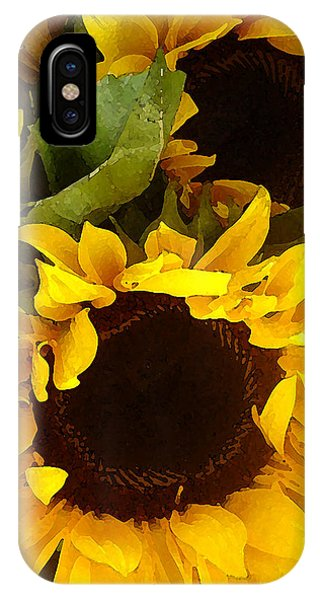 Sunflowers Tall IPhone Case
