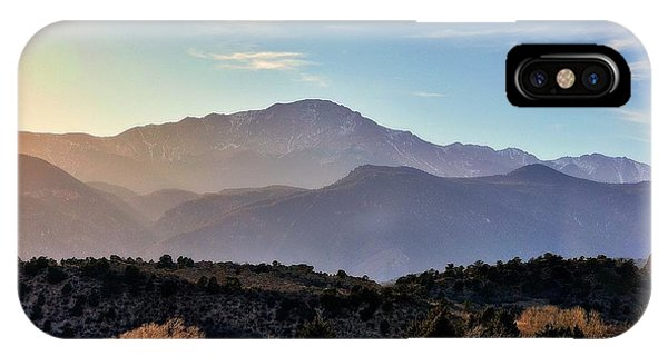 Sunglazed Peak IPhone Case