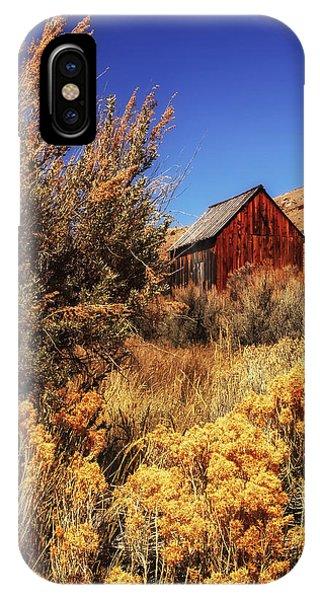 Sunglow Barn IPhone Case