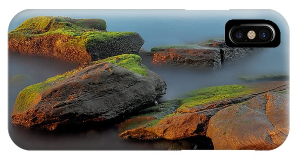 Sunkissed Rocks IPhone Case