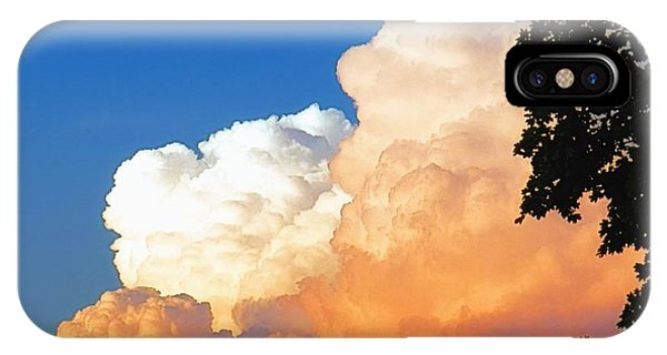 Sunkissed Storm Cloud IPhone Case