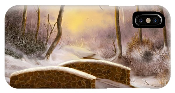 Sunlight In Winter IPhone Case
