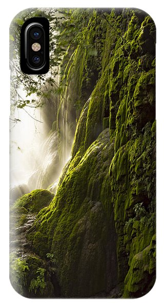 Gorman Falls Ray Of Light IPhone Case