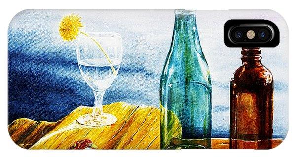 Sunlit Bottles IPhone Case