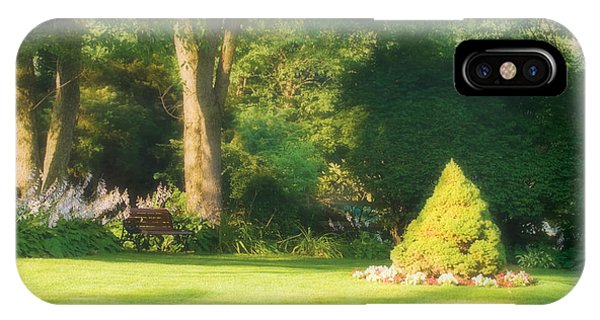 IPhone Case featuring the photograph Sunlit Greens by Joe Winkler