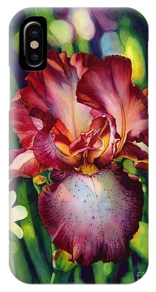 Sunlit Iris IPhone Case