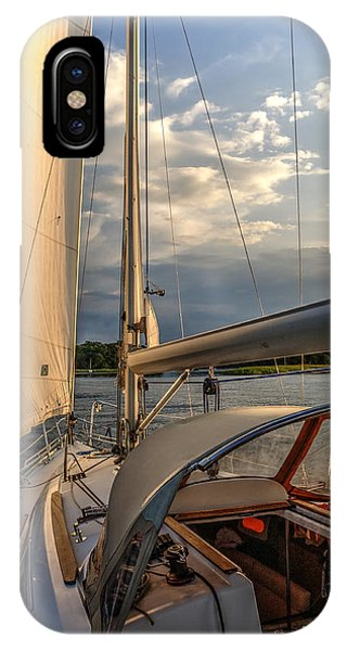 Sunny Afternoon Inland Sailing In Poland 2 IPhone Case