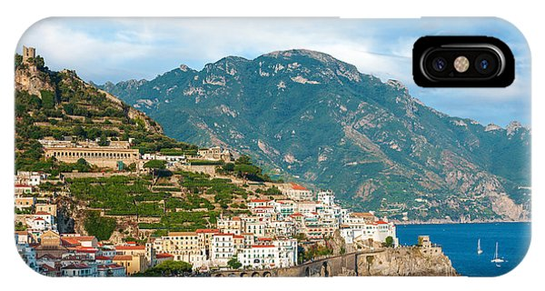 Sunny Amalfi City IPhone Case