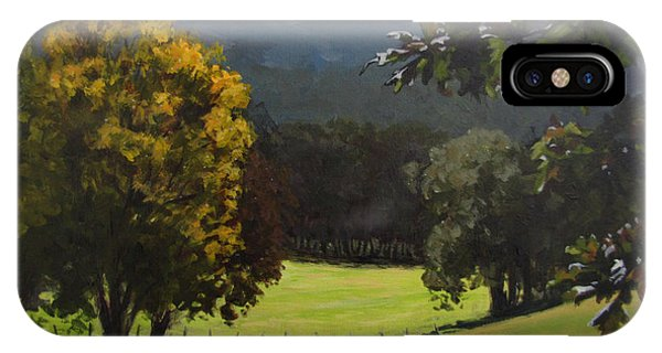 Sunny Fall Day IPhone Case