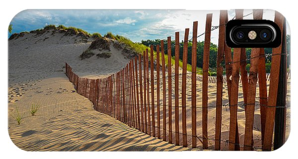 Sunny Morning On The Dunes IPhone Case