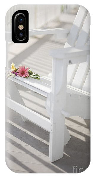 Porches iPhone Case - Sunny Porch by Diane Diederich