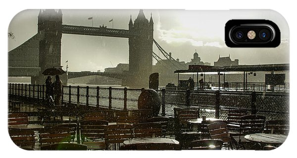Sunny Rainstorm In London - England IPhone Case