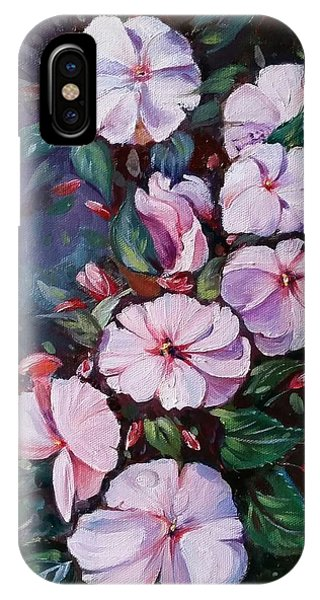 Sunpatiens Flowers IPhone Case