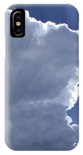 Sunrays Above IPhone Case