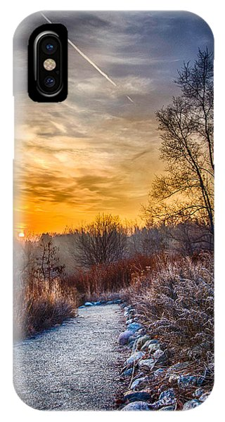 Sunrise 12-2-13 01  IPhone Case