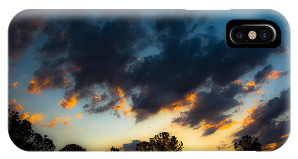 Sunrise And Clouds IPhone Case