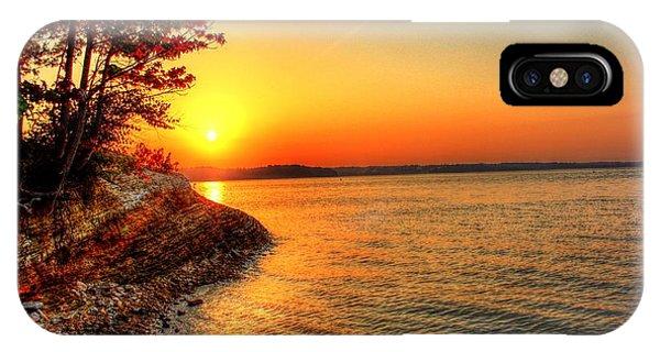 Sunrise Around The Bend IPhone Case